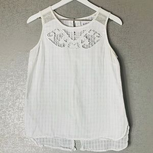 Olive and Oak White Top Size M
